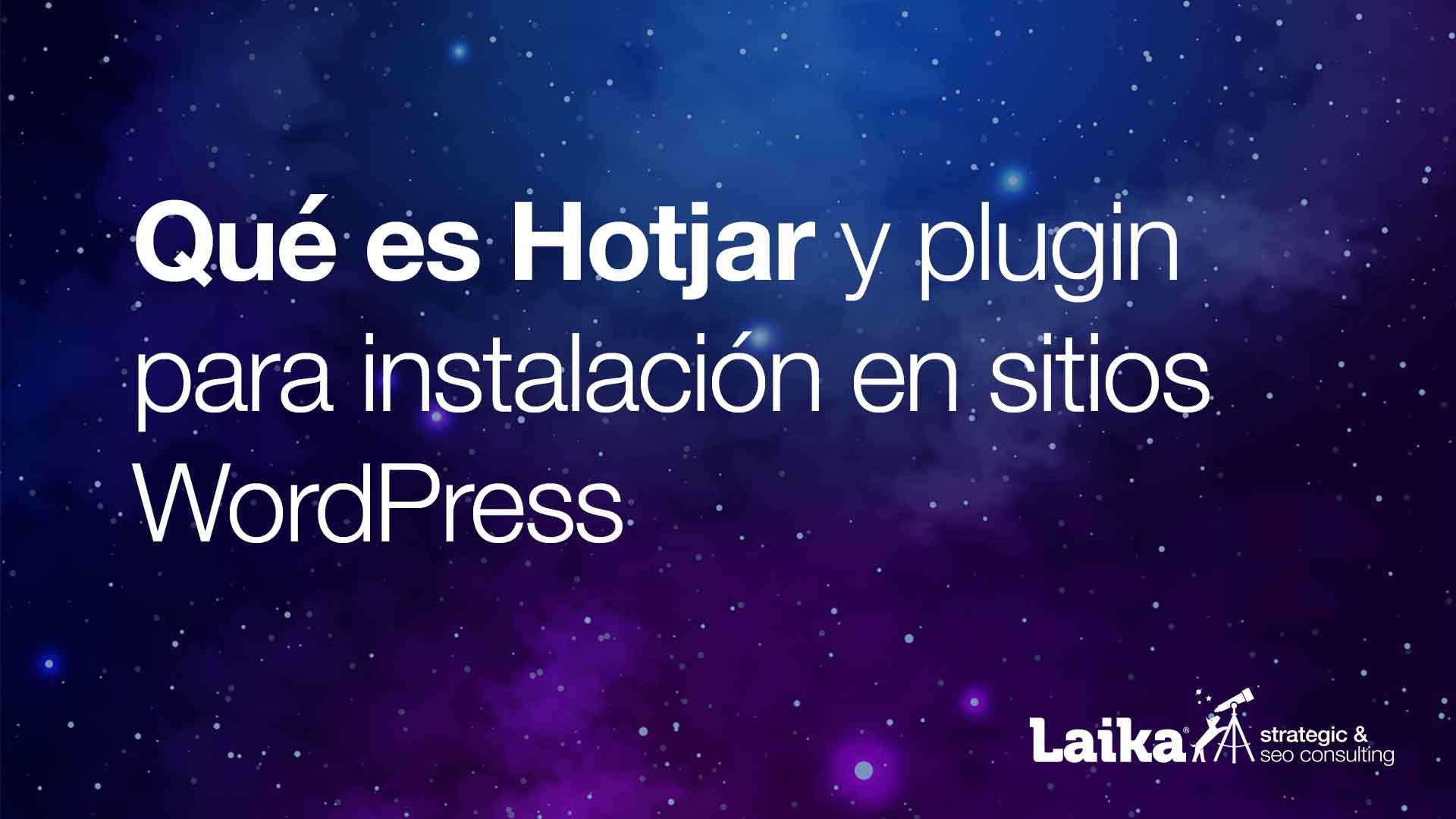 Hotjar para WordPress