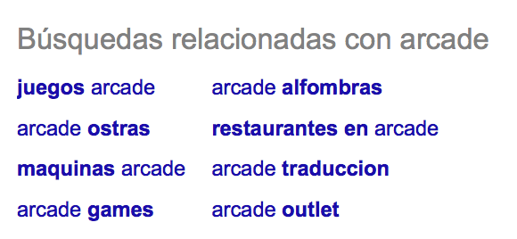 arcade google