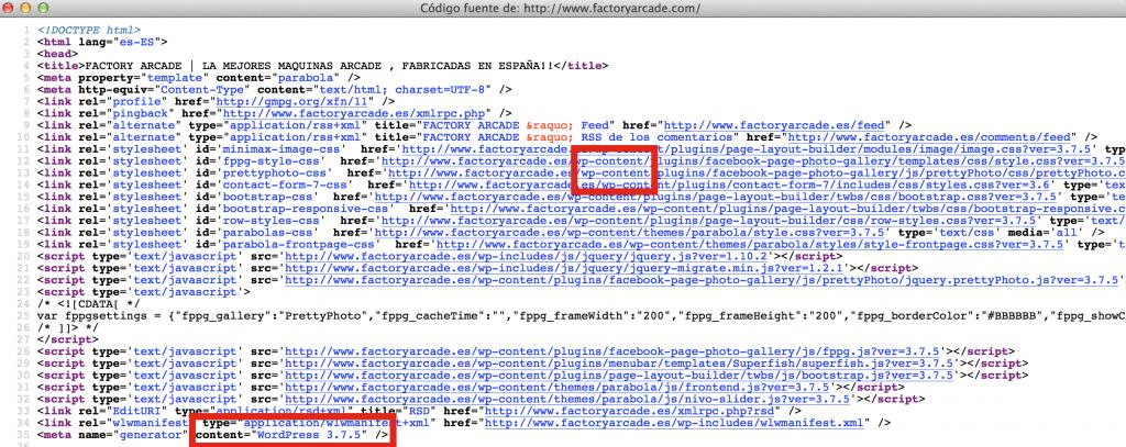 codigo fuente web