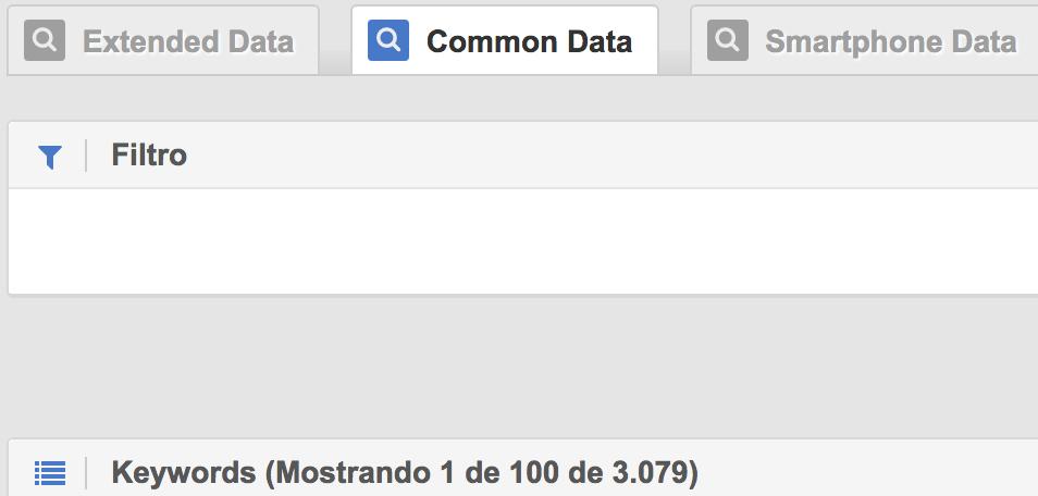 common data sistrix