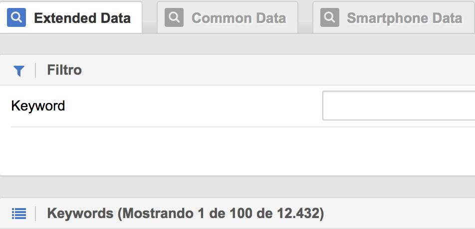 extended data sistrix
